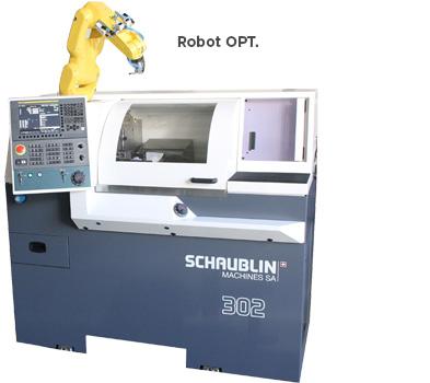Schaublin 302 Robot Opt Turning machine near me