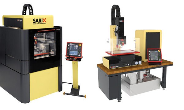 SARIX Micro EDM machines for micro hole drilling