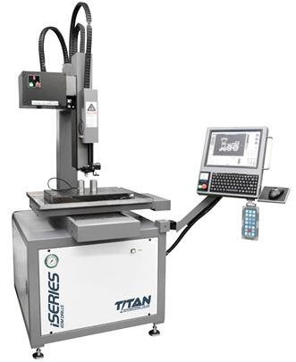 Titan i40C/i60C CNC EDM Hole Driller dealer in Pennsylvania